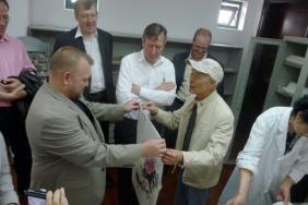 Malcolm Graham in China