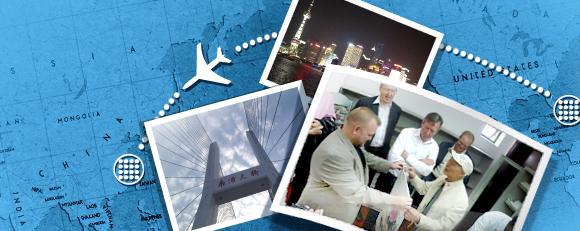 China photo collage