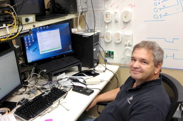 Ed Otero - Tel-Tron Quality Assurance Engineer.