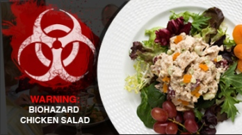 biohazard chicken salad